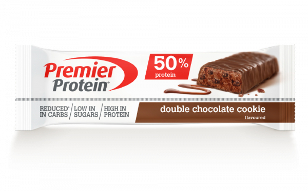 Protein Bar 50% Double Chocolate Cookie