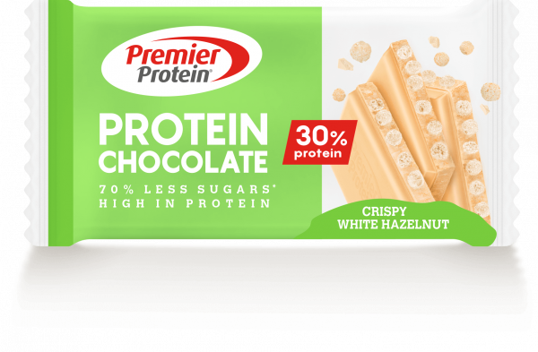 Protein Chocolate Crispy White Hazelnut