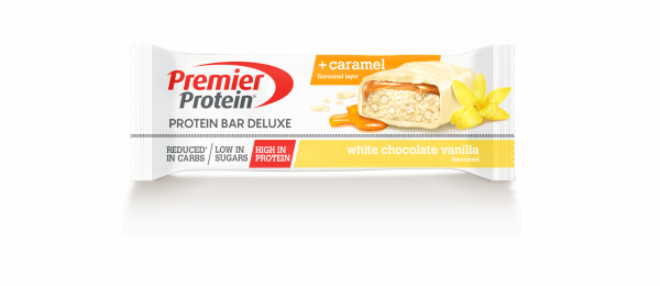 Protein Bar Deluxe White Chocolate Vanilla